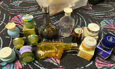 (Vintage Avon Cream Jars Collectibles.