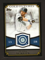 Dustin Ackley--2012 Topps Gold Futures Insert--Seattle Mariners