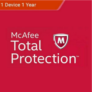 Mcafee total protection 1 User 2021 / 3 Years