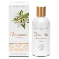 L'erbolario Osmanthus Shower Gel  Perfumed&Gentle&Firm&Toned Skin 250ml