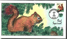 US Collins FDC SC#2489 Red Squirrel