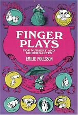 Finger Plays for Nursery and Kindergarten (Dover Childrens Activity Books) by E
