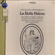 Offenbach LA BELLE HELENE Linda Dran Mollen - box 2 LP Everest Cetra SEALED