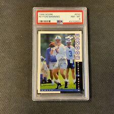 1998 Score Peyton Manning Indianapolis Colts RC Rookie PSA 8 NM-MT