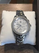 TAG Heuer Link Chrono CJF1314 Women's Watch in Stainless Steel