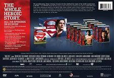 Smallville:The Complete Series Seasons 1-10 62-DVD Box Set,2017 NEW Authentic