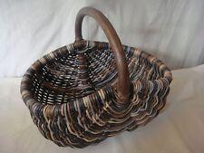 Einkaufskörbe aus Rattan mit Griff