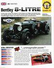 1930 / 1931 Bentley 8-LITRE IMP Brochure