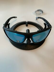Oakley Split Shot Sunglasses Matte Black Prizm H2O Deep Polarized OO9416-0664