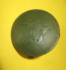 Rondache,insique casque ADRIAN  1er Rég.Tirailleurs Marocain, mod.26, peint kaki