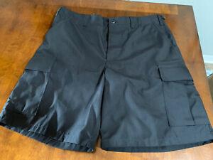 TruSpec Men's black work shorts Size large brand new