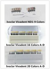1XDental A-D Shade Guide Bleach Abutment Ivoclar Vivadent Porcelain Teeth Color