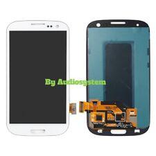 DISPLAY LCD+ VETRO TOUCH SCREEN SAMSUNG GALAXY S3 NEO GT i9301 BIANCO SCHERMO