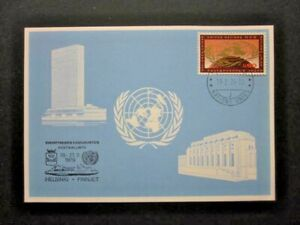 RARE 1979 HELSINKI-FINNJET SOUV. CARD WITH FIRST DAY OF EVENT CANCELLATION.02233