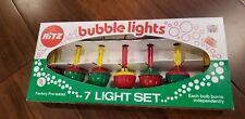 Vintage Christmas Ritz Bubble Lights in original box - no cord