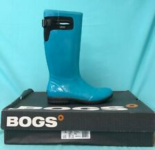 Bogs Women's Wellingtons - Tacoma Tall - In Teal- Size EUR 42, UK 11 - #485