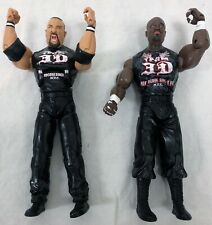 TNA Impact Cross The Line Brother Ray & Devon Dudley Boyz Figures Series 2 W18