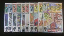 Amazing Spiderman Lot of 10 near mint