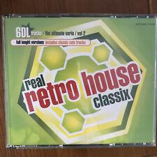 VV.AA. - REAL RETRO HOUSE CLASSIX VOL 2 - CAJA 4 CDS ARCADE 2001