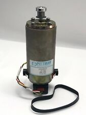 AMETEK PITTMAN Gear Motor 24 VDC 500CPR with pulley and timing belt