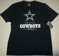 "New Dallas Cowboys NFL Football ""Arden"" t-shirt men's Large authentic Navy Blue"