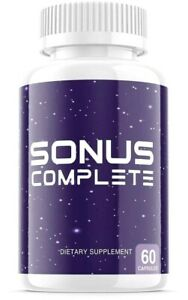 BRAND NEW Sonus Complete Tinnitus Relief Supplement, 1-Bottle 60 Capsules