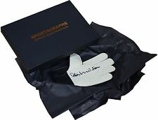 Bob Wilson SIGNED Goalkeeper Glove Autograph Gift Box Arsenal Football PROOF COA