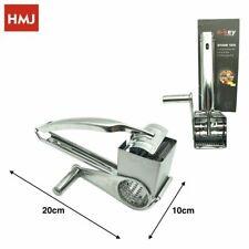 Grattugia Manuale A Manovella Multiuso In Metallo Formaggio Verdura Cucina hmj