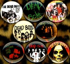 Dead Boys The NEW 8 pins badges buttons stiv bators CBGB's punk Cheetah Chrome