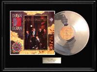 DURAN DURAN SEVEN & RAGGED TIGER WHITE GOLD SILVER PLATINUM TONE RECORD ALBUM