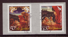 NEW ZEALAND 2008 CHRISTMAS COIL PAIR FROM JUMBO ROLL FINE USED