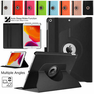 """360° Rotating Case PU Leather Cover For Apple iPad 9th Generation 10.2"""" (2021)"""