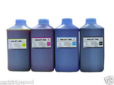 4 Liter Refill Bulk Black Color  Ink for HP Canon Dell Brother Printers 4x34oz