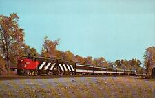 "Canadian National Train No. 61 "" Rapido "" Dorion Canada --- Railroad Postcard"