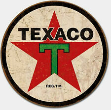 Texaco Gas Oil '36 Gasoline Pump Metal Sign Tin New Vintage Style USA #1798