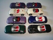 ROADSTERS CONVERTIBLES MODEL CARS SET 1:87 H0 KINDER SURPRISE PLASTIC MINIATURES