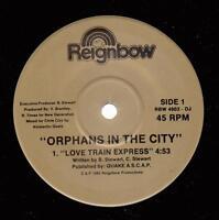 HEAR! Modern Soul Gospel Boogie 45 ORPHANS IN THE CITY Love Train Express on Rei