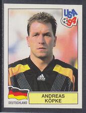 PANINI-USA 94 COPPA DEL MONDO - # 180 Andreas Kopke-DEUTSCHLAND (Verde Retro)