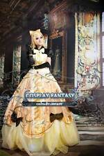 VOCALOID Kagamine Rin Ball Gown Cosplay Costume luxury Lolita Prom Dress Yellow