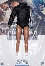 New Hot Toys Winter Soldier 1/6 Figure Body Shirt Jacket Civil War Bucky MMS351