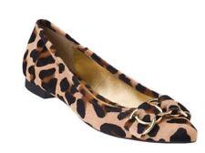 KATE SPADE NEW YORK AUTH $399 Women Calf Hair Animal Print Eryn Flat Shoes Sz 6M