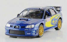 1:36 SUBARU impreza WRC 2007 #7 Diecast Model Rally Racing Car By Kinsmart