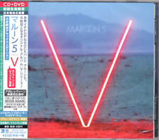 MAROON 5-V DELUXE EDITION-JAPAN CD+DVD BONUS TRACK Ltd/Ed H14