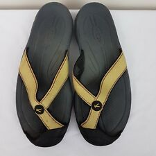 Keen Women's Sports Thong Sandal SZ 8 Antigua Lime Green Performance Flip Flops