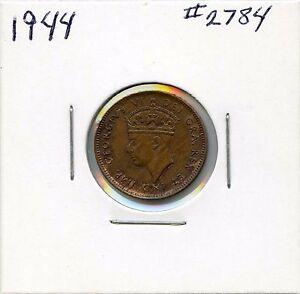 High Grade 1944 C Newfoundland 1 Cent. Uncirculated. Lot #2561