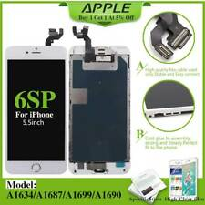 For iPhone 6S Plus 5.5'' Complete Touch Screen LCD Digitizer+Button+Camera White