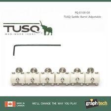 NEW Graph Tech Barrel Saddles For Jaguar/Jazzmaster Mustang Guitars - PQ-8108-00