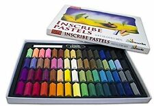 InScribe Soft Pastels Artist Set 64 Half Sticks Assorted Colours