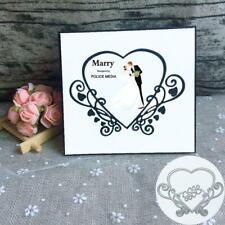 Heart Metal Cutting Dies Stencil Scrapbooking DIY Album Stamp Paper Card Emboss