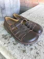 BIRKENSTOCK Madeira Fisherman Sandals Shoes 42  W 11 - M 9 Brown Leather Germany